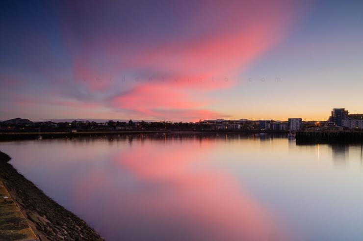 Granton Harbour Reflection