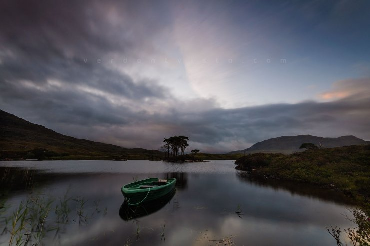 Sunrise over Loch Assynt