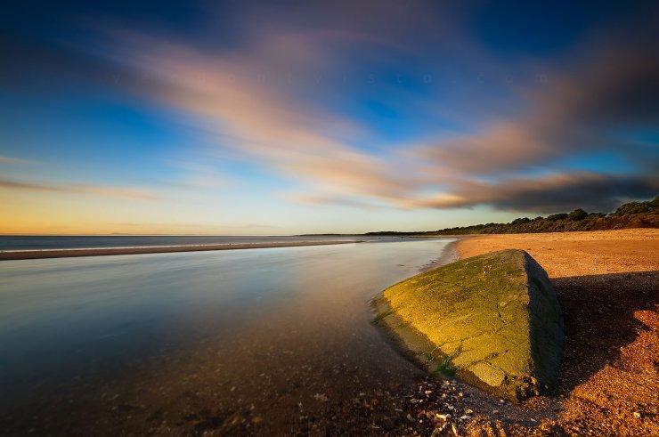 Golden Light at Seton Sands