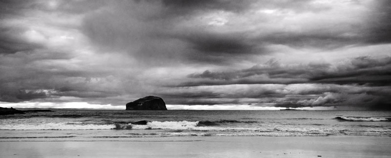 Bass Rock | Before Processing