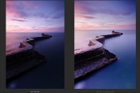 St Monans #3 - Before / After Comparison