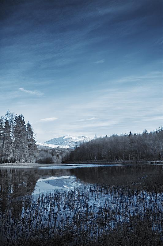 Loch Lubhair - Blue