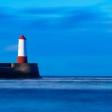 Lighthouse in the Sun