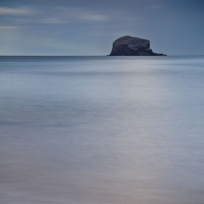 Moonlight Bass Rock