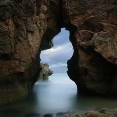 Clashach Cove Sea Arch
