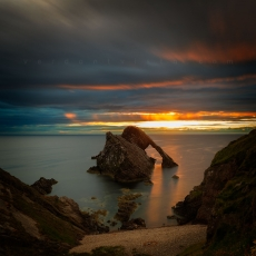 Bow Fiddle Rock Sunrise #3.1